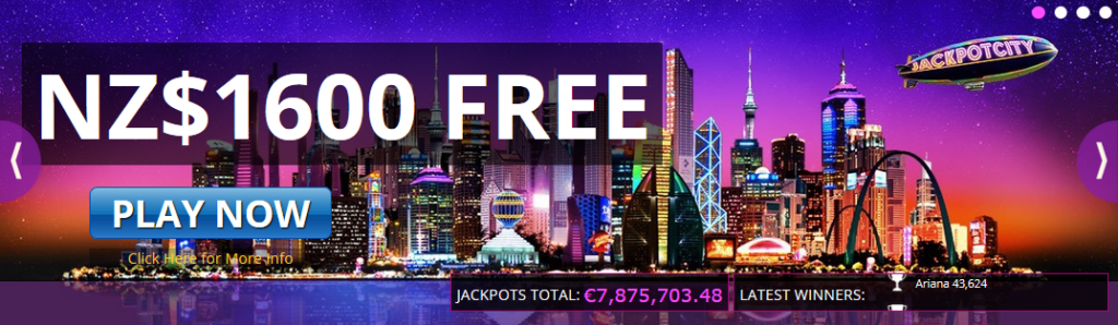 Jackpot City NZ Mobile Casino