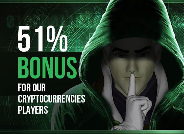 cryoptocurrency bonus