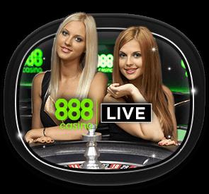 live casino 888