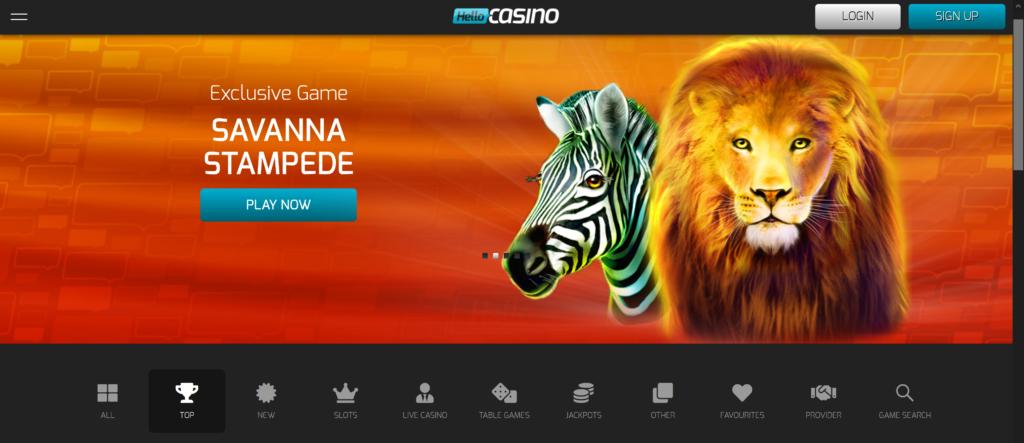 hello casino 50 free