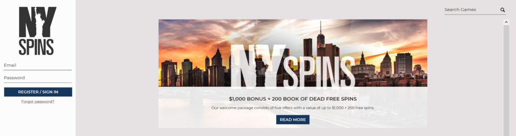 nyspins no deposit bonus